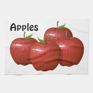Äpfel Geschirrtuch