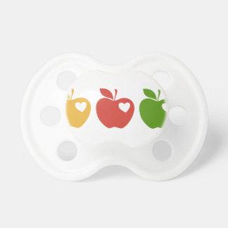 Äpfel Schnuller