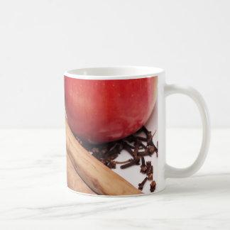 Äpfel u. Zimt Kaffeetasse