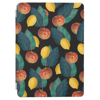 Äpfel und Zitronenschwarzes iPad Air Hülle