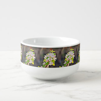 Apfelbaum-Blüten-Suppen-Tasse Große Suppentasse