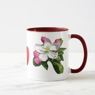 Apfelblüten-Wecker-Tasse Tasse
