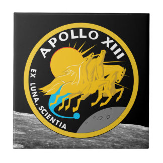 Apollo 13 die NASA-Auftrag-Flecken-Logo Keramikfliese
