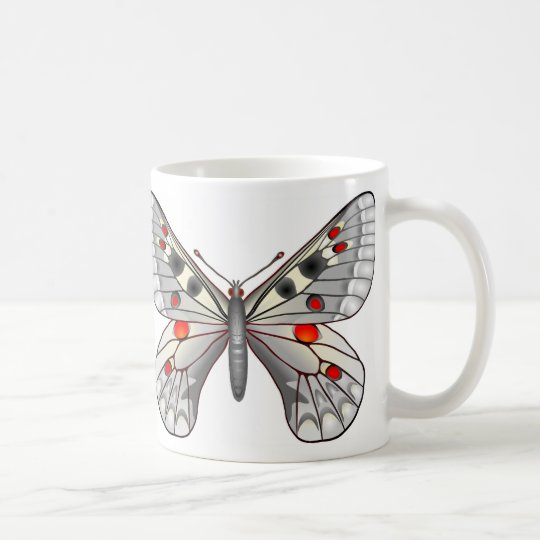 Apollo-Schmetterling Tasse
