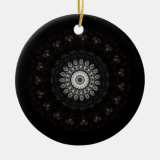 Apophysis Blümchen Kaleidoskop Rundes Keramik Ornament