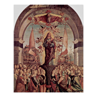 Apotheose von St Ursula durch Vittore Carpaccio Poster