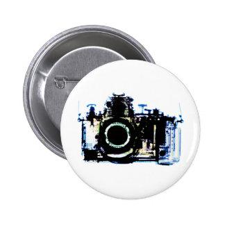APPAREIL-PHOTO DE VISION DE RAYON X - ORIGINAL BADGE ROND 5 CM