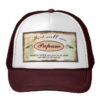 Appelez-moi papaye chapeau première génération fra casquette de camionneur