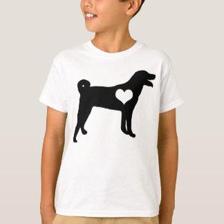 Appenzeller Sennenhund Herz scherzt T - Shirt