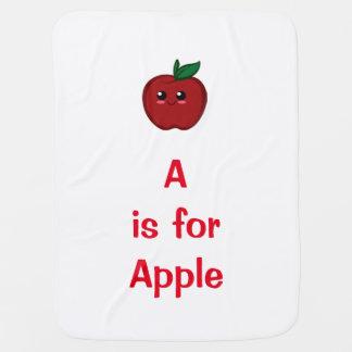 Apple-Baby-Decke Puckdecke