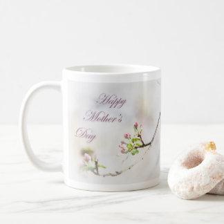 Apple blühen der Tag der Mutter Kaffeetasse