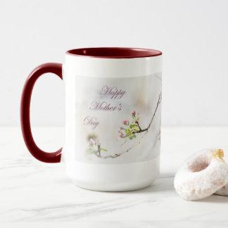 Apple blühen der Tag der Mutter Tasse
