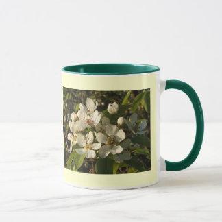 Apple blühen Weiß Tasse