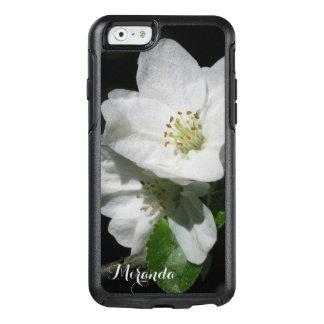 Apple-Blüte - personalisiert mit Namen oder Text - OtterBox iPhone 6/6s Hülle