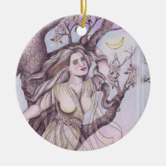 Apple-Blütedryad-feenhafte Feen-Altar-Kunst Keramik Ornament