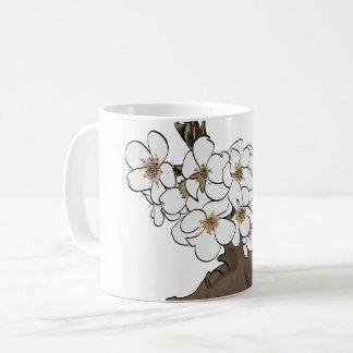 Apple-Blüten Kaffeetasse