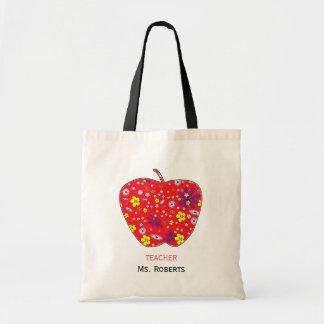 Apple für Lehrer rühren Taschen-Tasche Tragetasche