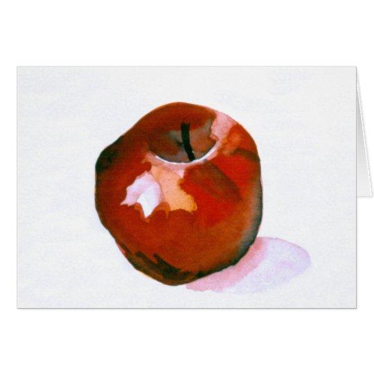 Apple Grußkarte