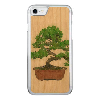 Apple iPhone 7 Holz-Kasten: Japanischer Carved iPhone 8/7 Hülle