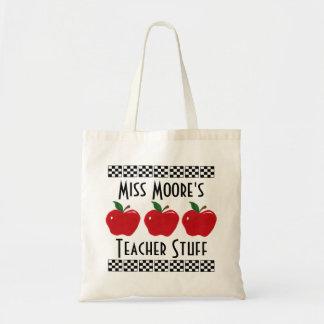 Apple-Lehrer-Material - kundengerechte Tasche