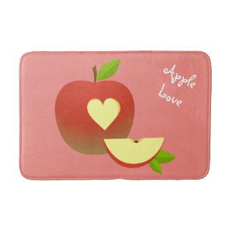 Apple-Liebe Badematte