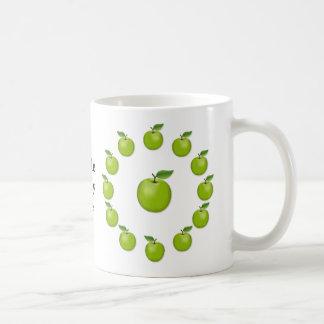 Apple meines Auges, Oma-Smith Kaffeetasse