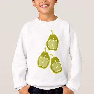 Apple u. Birnen-Gekritzel-Kunst Sweatshirt