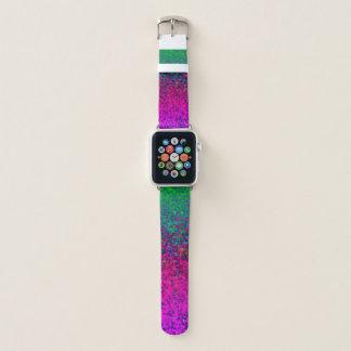 Apple-Uhrenarmband-Glitzer-Staub-Hintergrund Apple Watch Armband