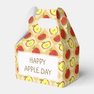 Apple und ein halbes Muster Geschenkschachtel