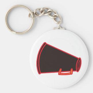 Applique-Megaphon Schlüsselanhänger