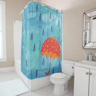 April-Duschen-Bad-Vorhang Duschvorhang