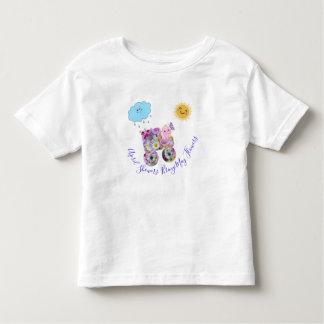 April-Duschen Bring können Blumen Kleinkind T-shirt
