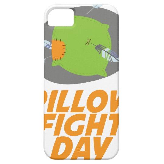 April erster - Kissenschlacht-Tag iPhone 5 Schutzhüllen