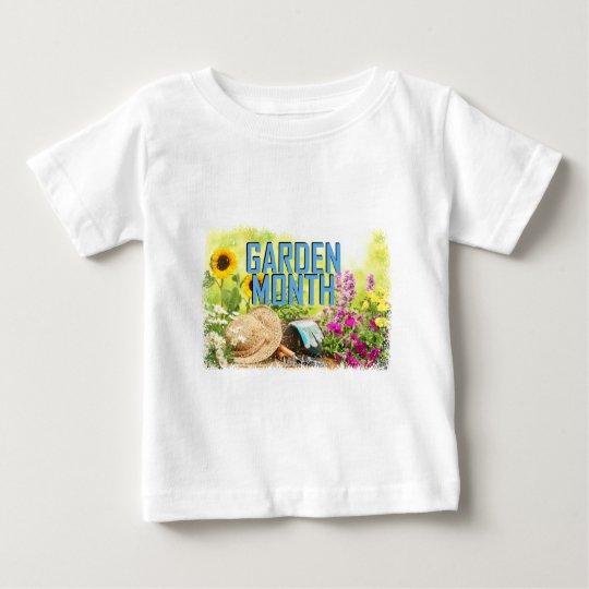April - Garten-Monat Baby T-shirt