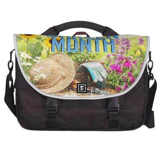 April - Garten-Monat Laptop Taschen