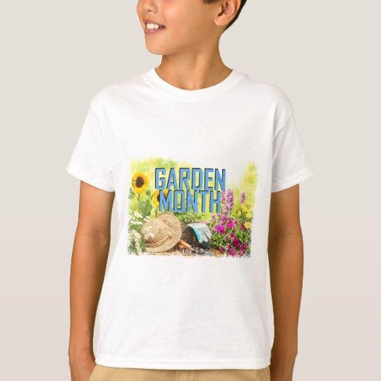 April - Garten-Monat T-Shirt
