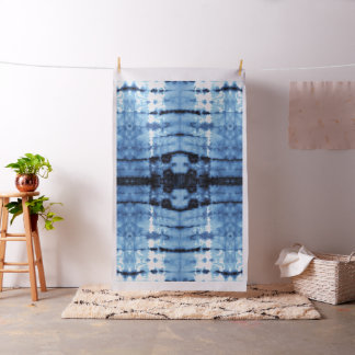 April-Indigo Shibori Stoff