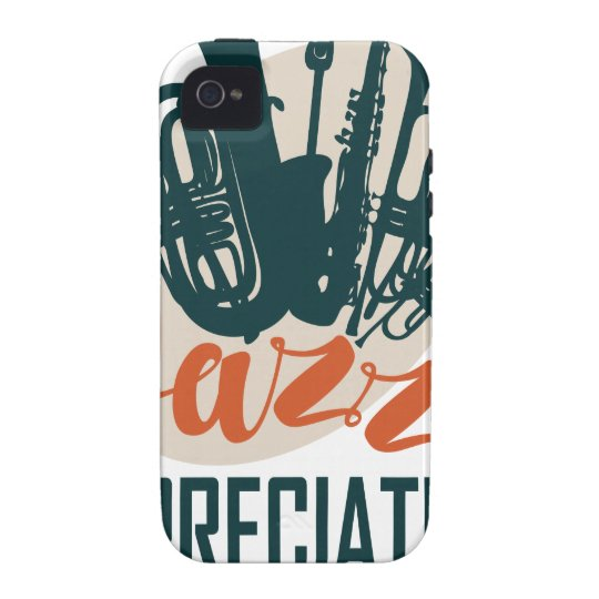 April - Jazz-Anerkennungs-Monat iPhone 4/4S Cover