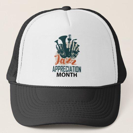 April - Jazz-Anerkennungs-Monat Netzkappen