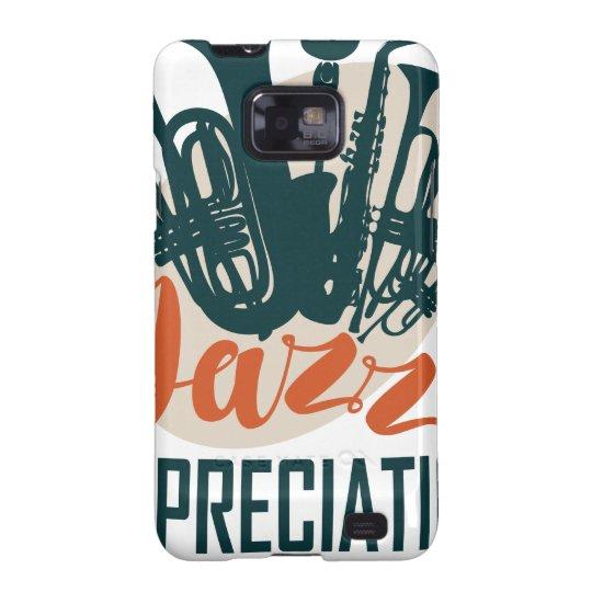 April - Jazz-Anerkennungs-Monat Samsung Galaxy SII Hüllen