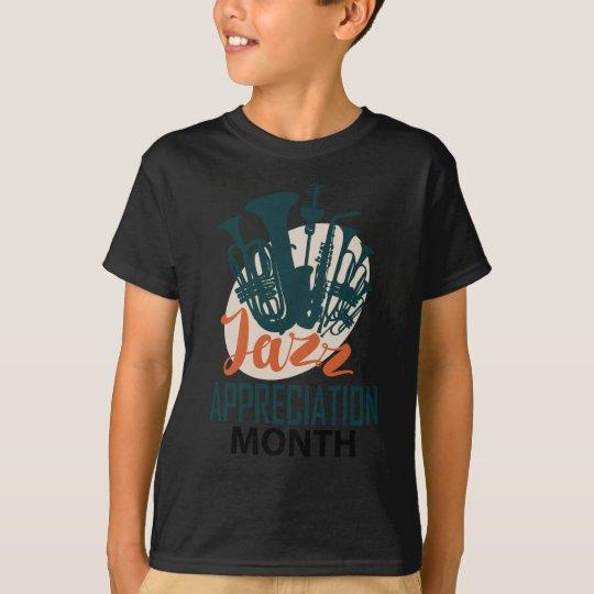 April - Jazz-Anerkennungs-Monat T-Shirt