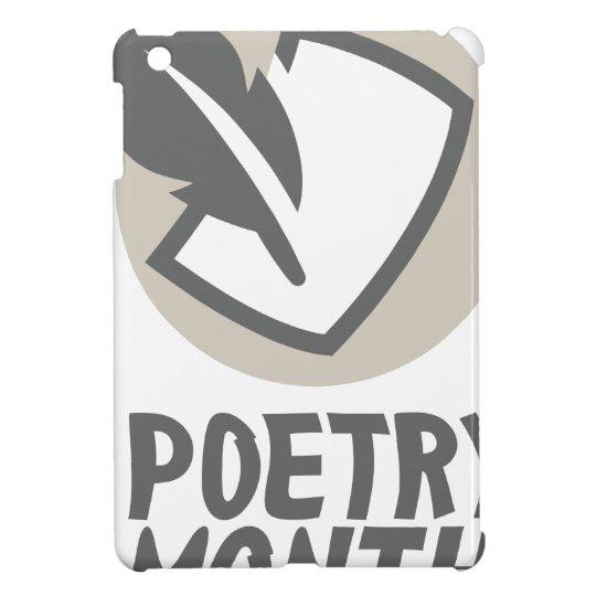 April - Poesie-Monat Hülle Für iPad Mini