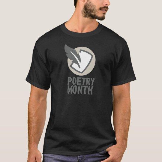 April - Poesie-Monat T-Shirt