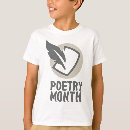 April - Poesie-Monat T-Shirt