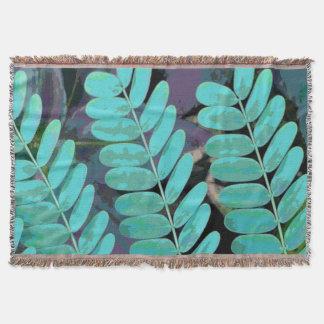 Aqua-Blätter Decke
