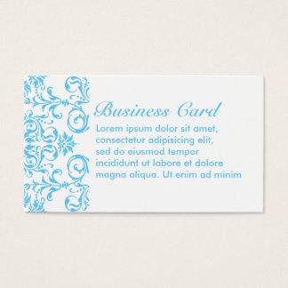 Aqua-Blau + Kundenspezifische Farbe Visitenkarte