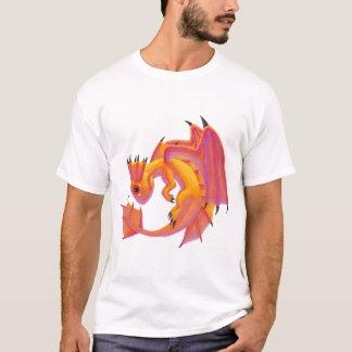 Aqua-Drache T-Shirt