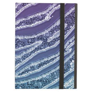 Aqua-Lavendel-Glitterzebra-Streifen