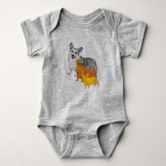 : aquacorg: Pop-KunstCorgi Baby Strampler