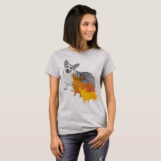 : aquacorg: Pop-KunstCorgi T-Shirt